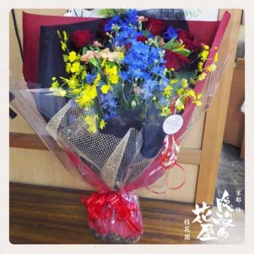 ダンスパーティー用の花束 -京都隠れ家的花屋-