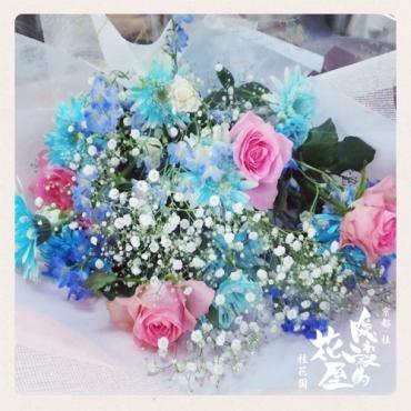 御祝いの花束 -京都隠れ家的花屋-