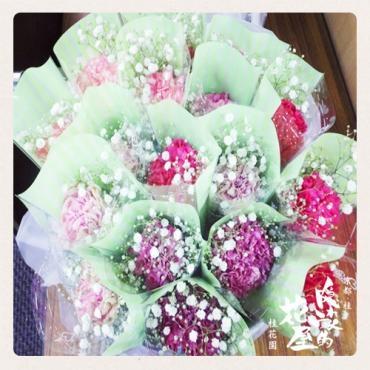 結婚御祝のロールフラワー -京都隠れ家的花屋-